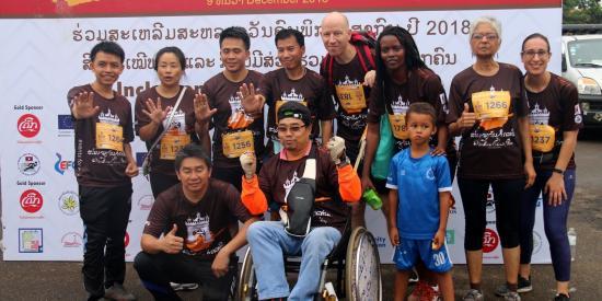 Vientiane Classic Run – International Disability Day Event
