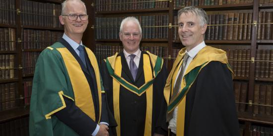 RIA - Prof Peter Kennedy, Prof Gerry Kearns and Prof Stephen Buckley - Maynooth University