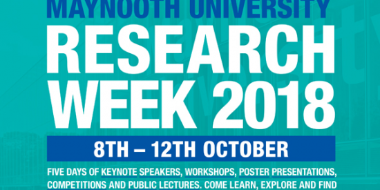 Research Week Maynooth University 2018