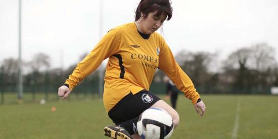 Sports - Soccer female2 - Maynooth University