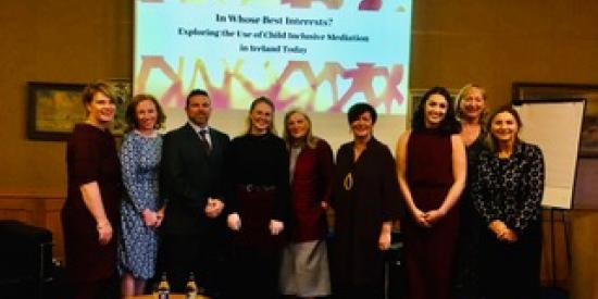 The Child Inclusive Mediation Conference on 9 October 2019
