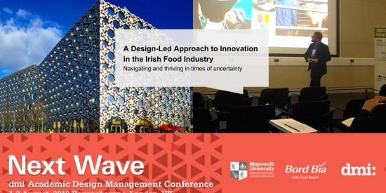 Trevor Vaugh DMI presentation Design Innovation 2018