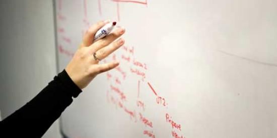 Communications & Marketing - Whiteboard arm marker - Maynooth University