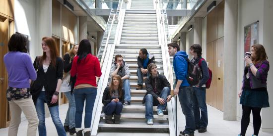 Iontas Stairs - Maynooth University