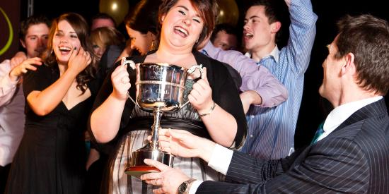 Clubs & Socs Best Club Award 2009 - Rugby Club - Maynooth University