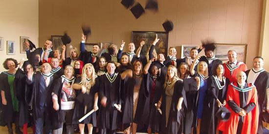 BA Community and Youth Work students graduation 2017