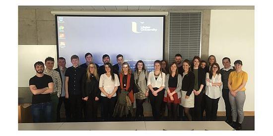 Maynooth Psychology Students at Student Congress