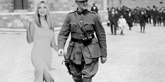 Ivanka Trump and Michael Collins