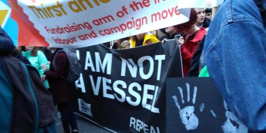 Repeal March: I am not a vessel