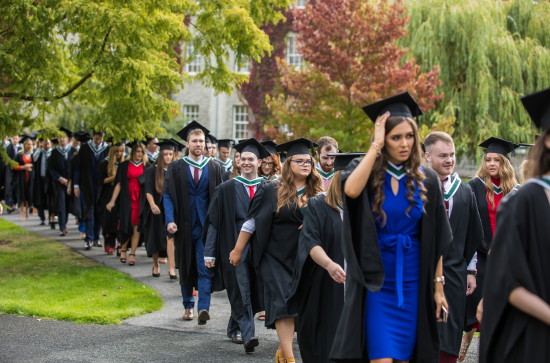 Conferring Procession Maynooth University