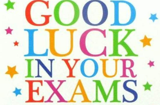 Good Luck In Your Exams Maynooth University