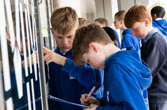 Local Schools take part in Decade of Commemorations