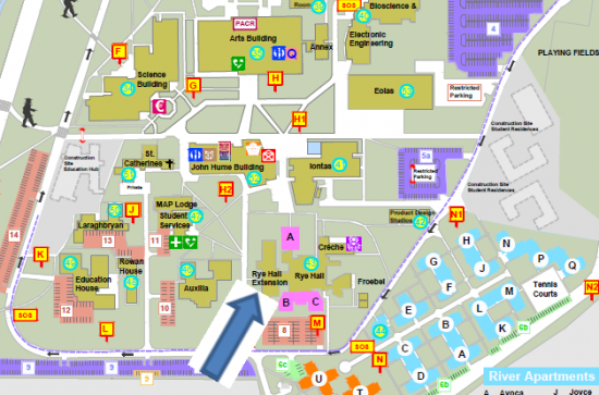 map of maynooth campus 3rd Year Business In Arts Maynooth University map of maynooth campus